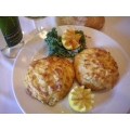 One 8oz Jumbo Lump Crab Cake